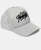 Embroidered Cap - White