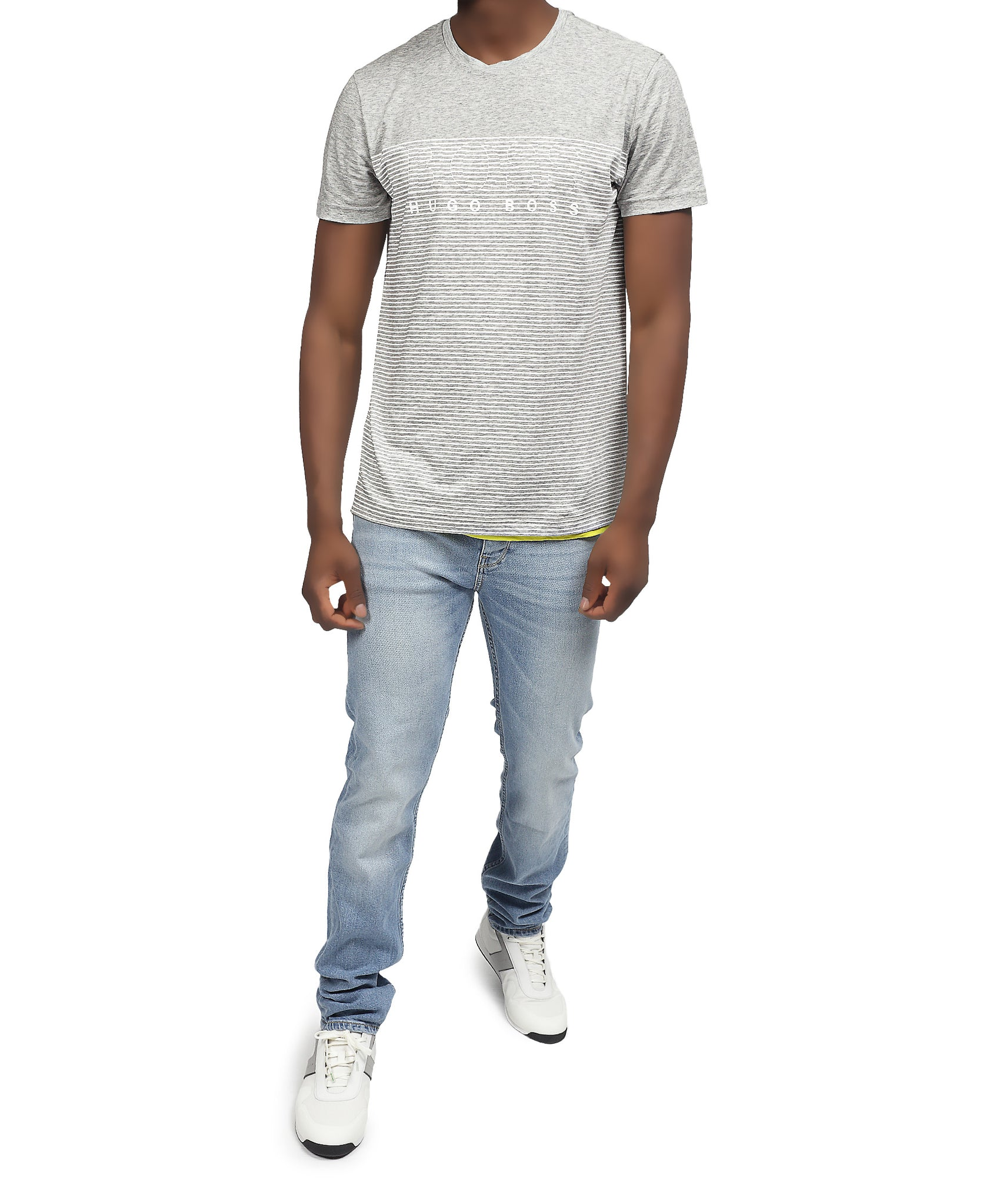 Slim Fit Hugo Boss T-Shirt - Grey