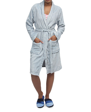 Bathrobe - Blue