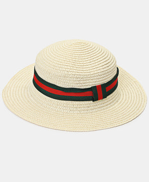 Straw Hat - White