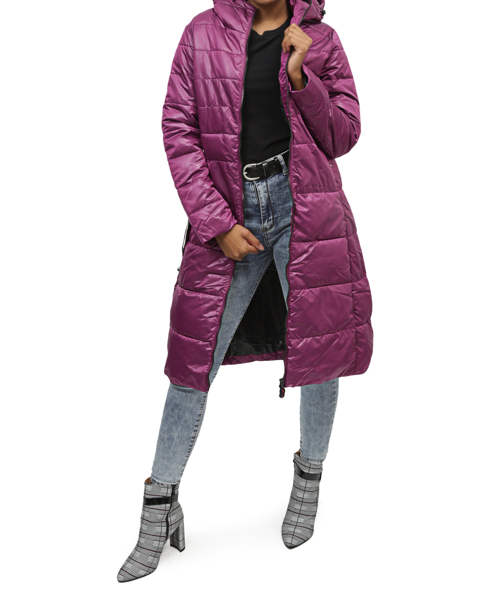 Midi Jacket - Purple