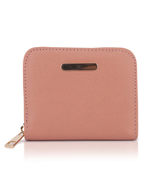 Zipper Wallet - Peach