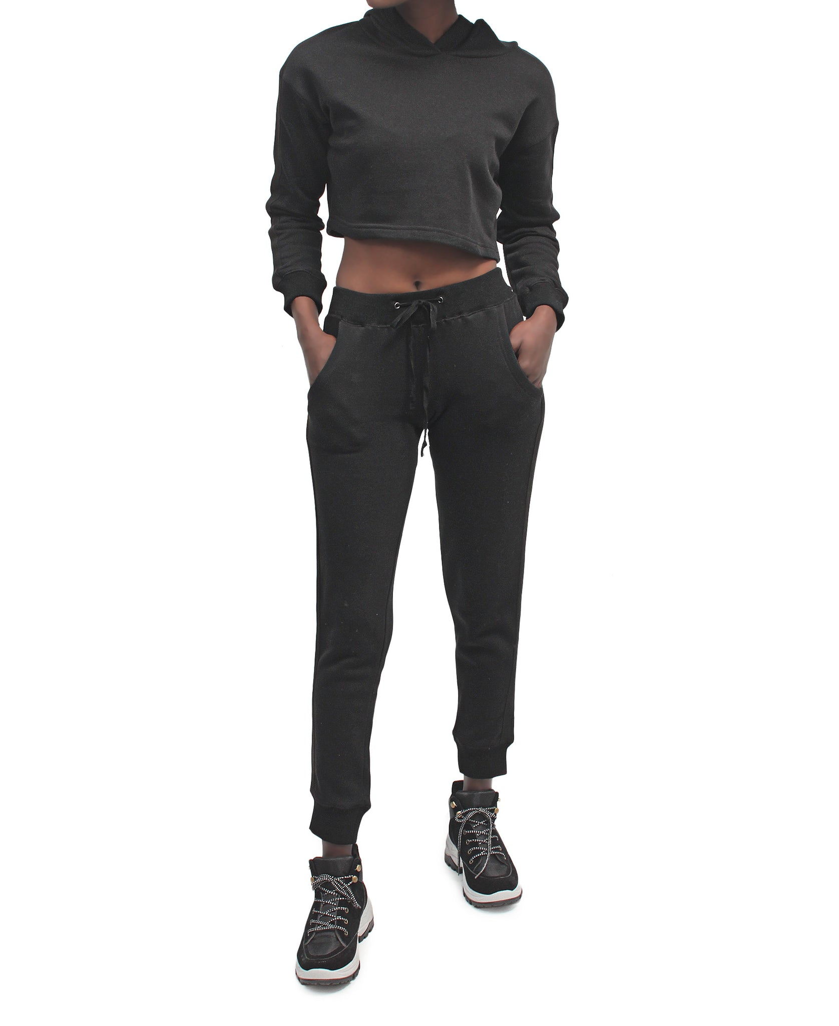 2 Piece Tracksuit - Black