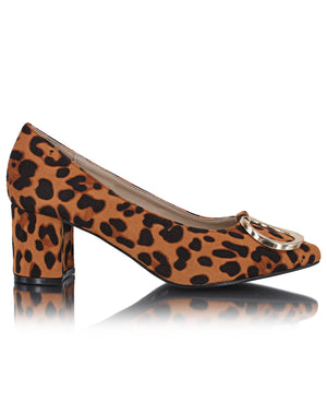 Court Shoe - Brown