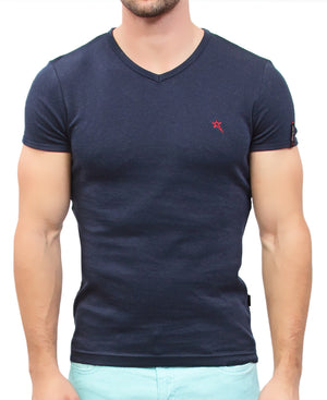 Bolt Evo Muscle Fit T-Shirt  - Navy