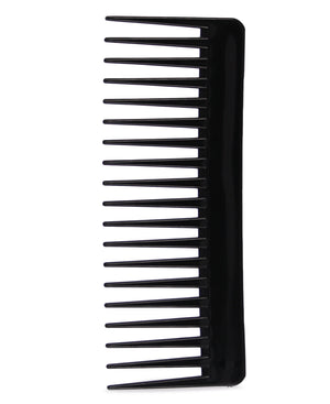 Wide Tooth Hair Comb - Black