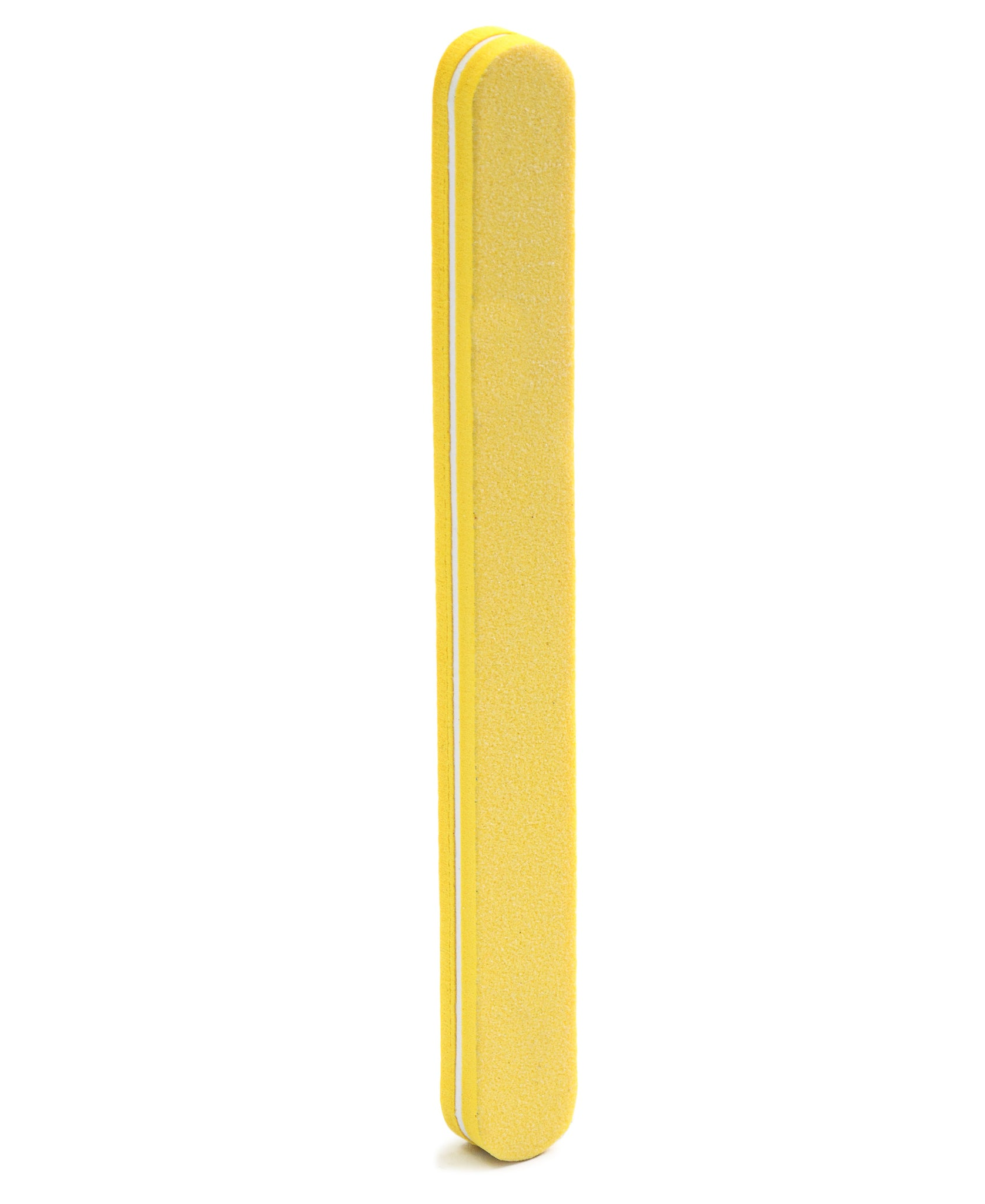Flexible Sponge Nail Buffer - Yellow