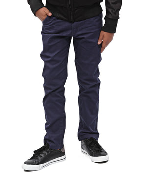 Boys Chino Pants - Navy