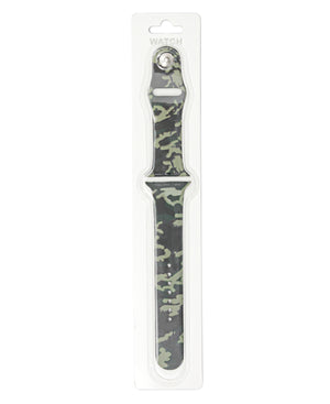 42/44mm Camo Apple Watch Band - Green