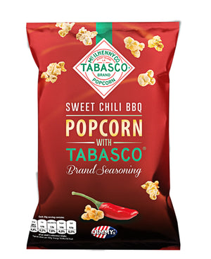 Tabasco Sweet Chili BBQ Popcorn - Red
