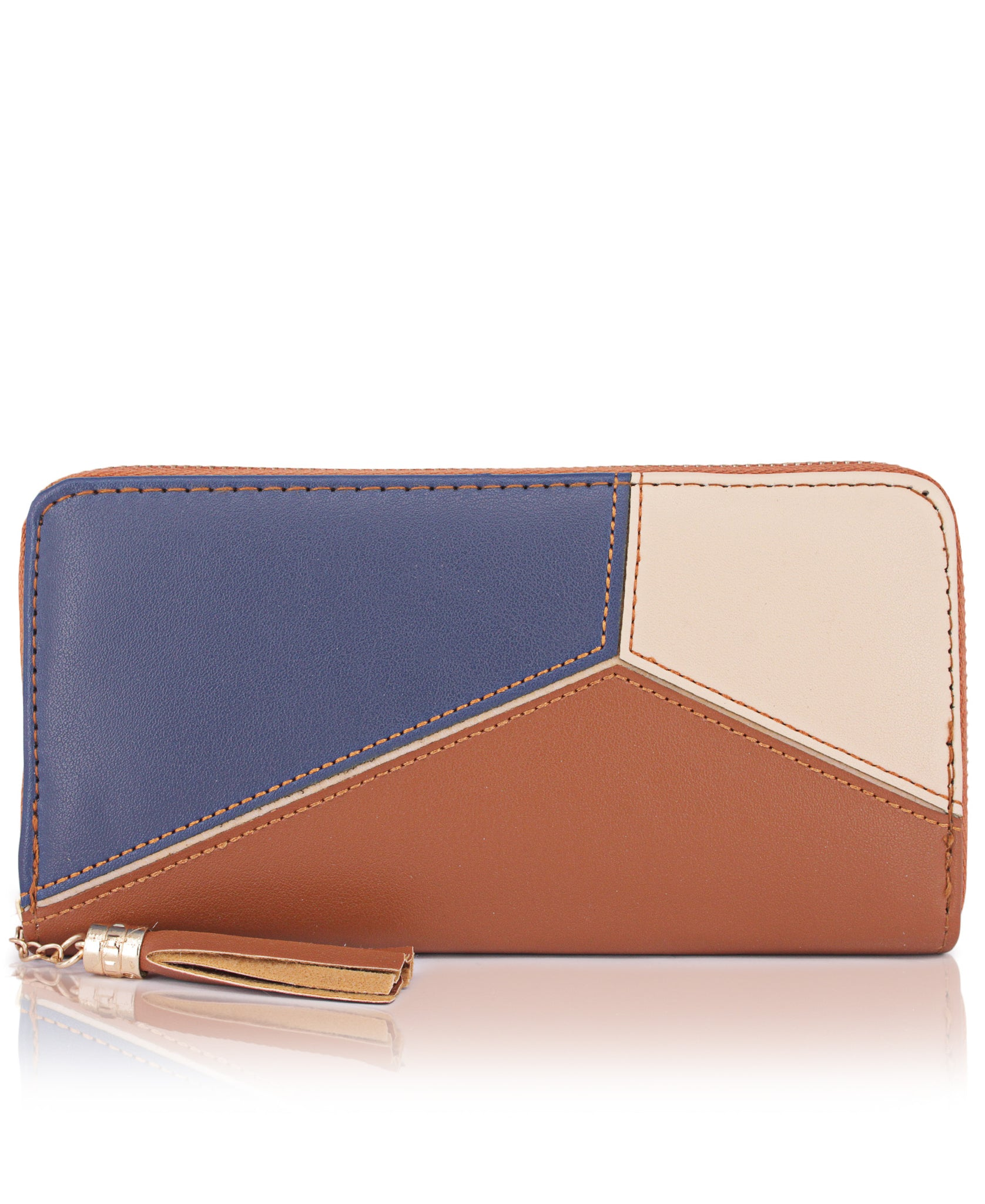 Zip Around Wallet - Tan
