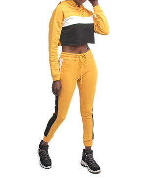 2 Piece Tracksuit - Yellow
