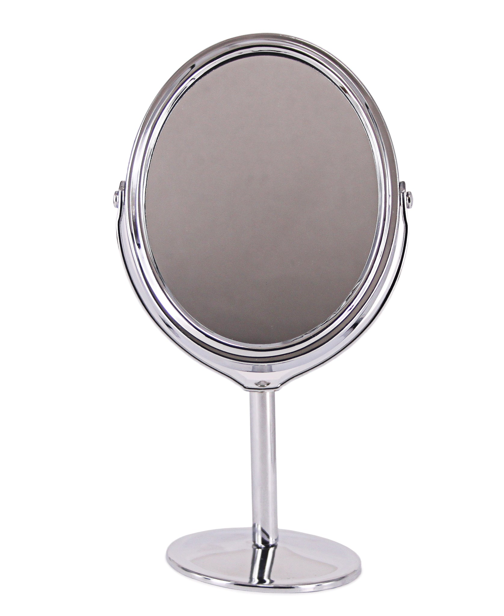 Two Sided Standing Mirror - Silver