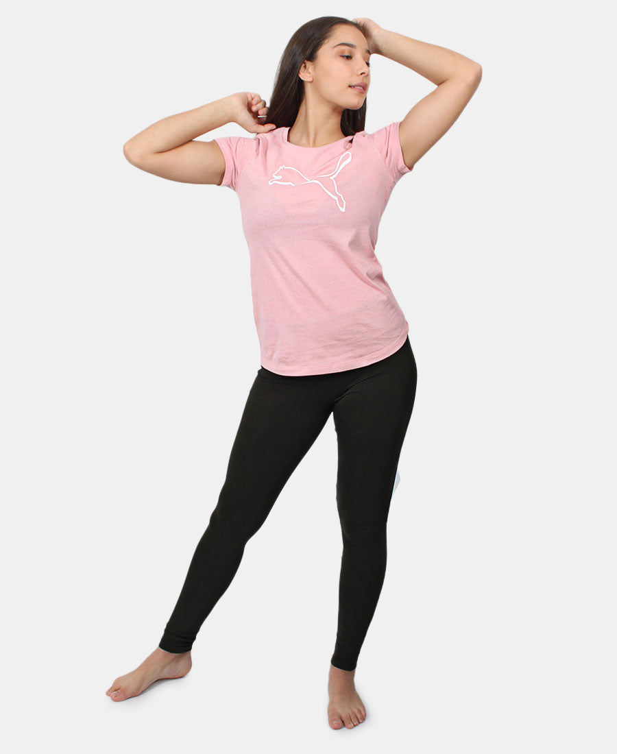 Athletics Tee - Pink