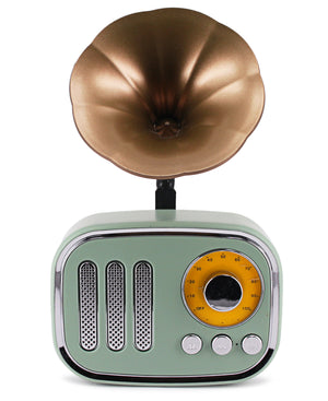 Wireless Vintage Speaker - Green