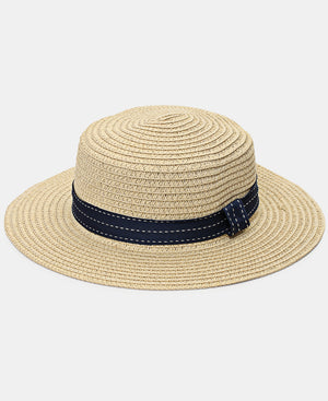 Girls Straw Hat - Beige