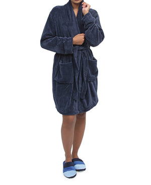 Bathrobe - Navy