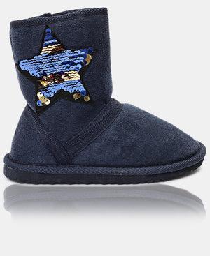 Girls Boots - Navy