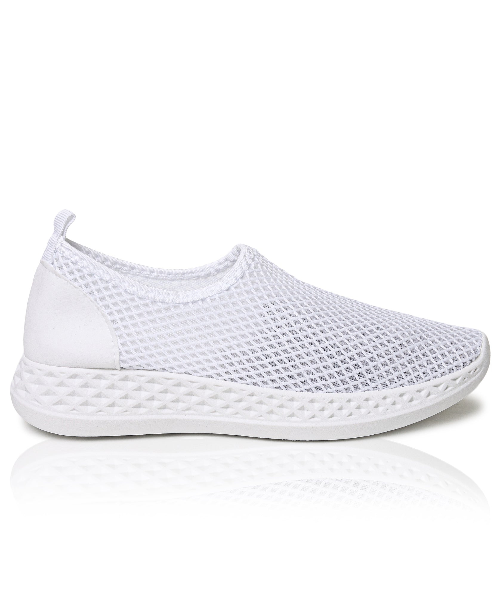 Ladies' Casual Sneakers - White