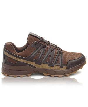 Men's Hiker Sneakers - Choc