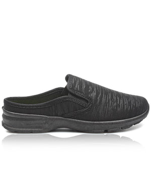 Ladies' Slip On - Black