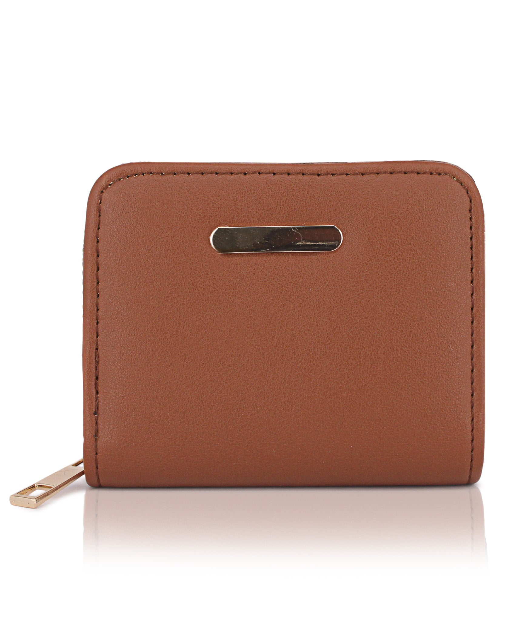 Zipper Wallet - Tan