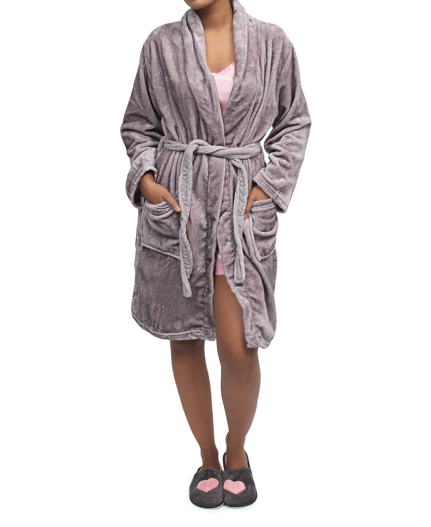 Bathrobe - Purple