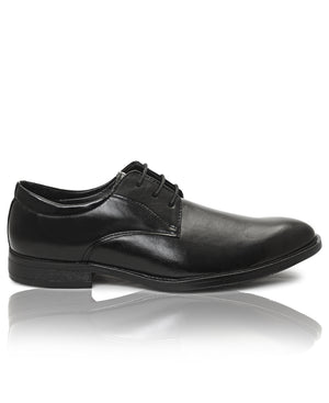 Lace Up Shoes - Black