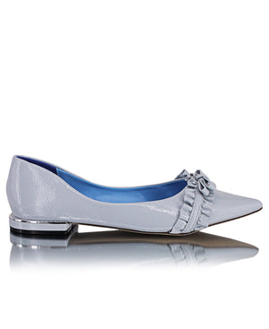 Pointy Pumps - Blue