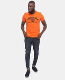 Lonsdale Crew Neck Tee - Orange