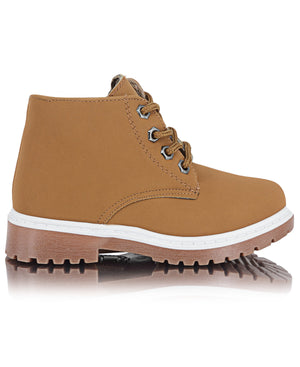Boys Ankle Boots - Tan