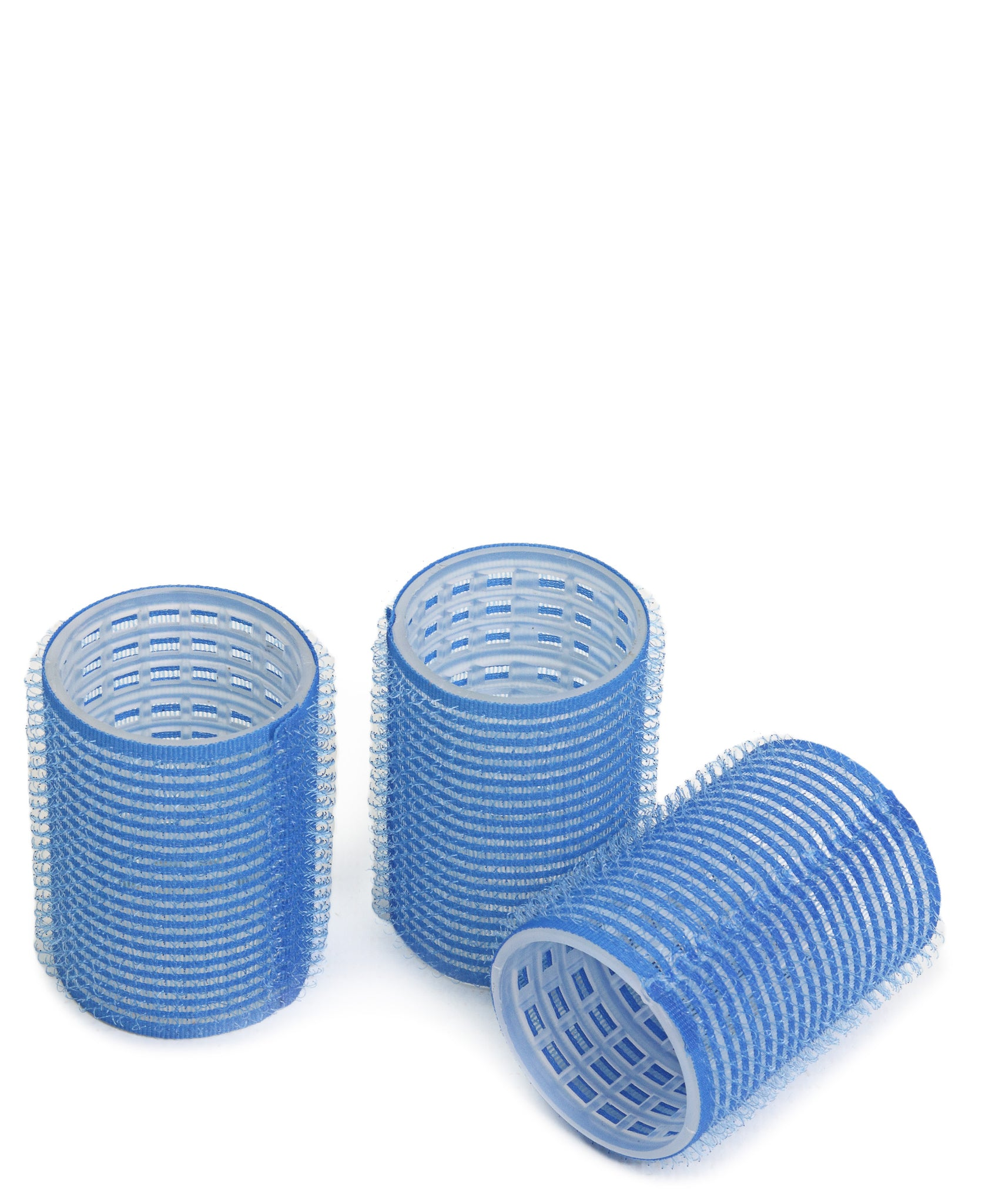 XL Velcro Hair Rollers 3's - Blue