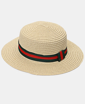 Straw Hat - Beige