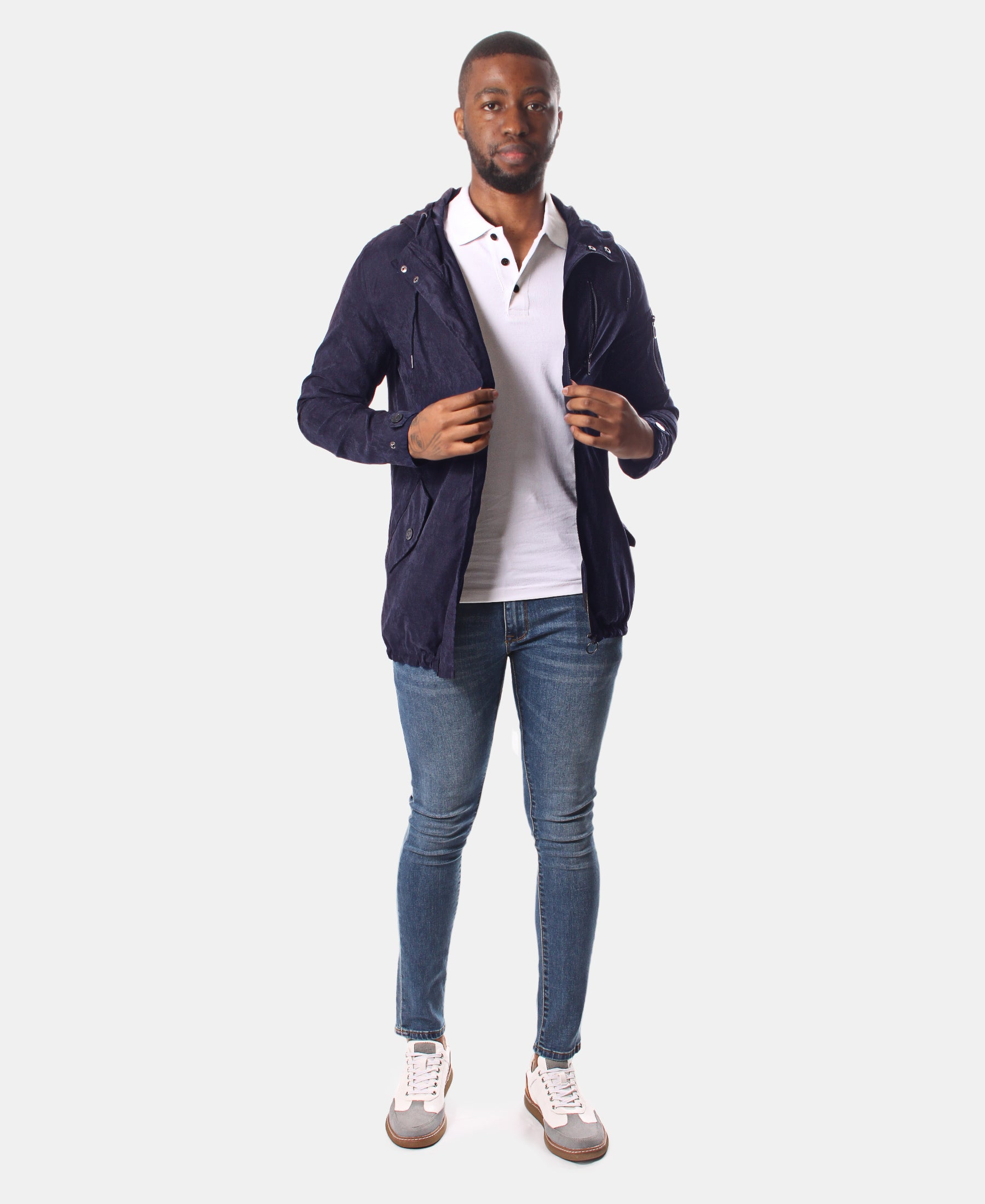 Men's Jacket - Navy