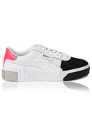 Ladies' Cali Remix Sneakers - White-Black
