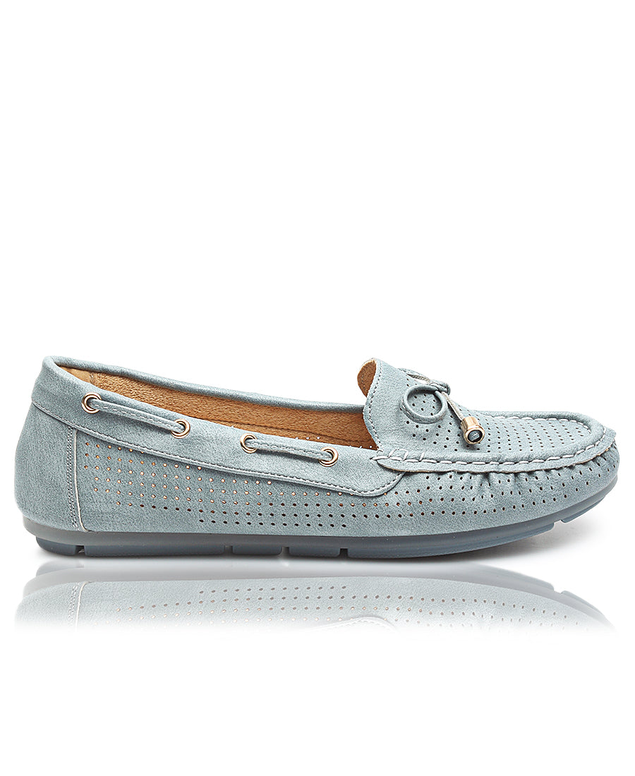 Ladies' Loafers - Blue