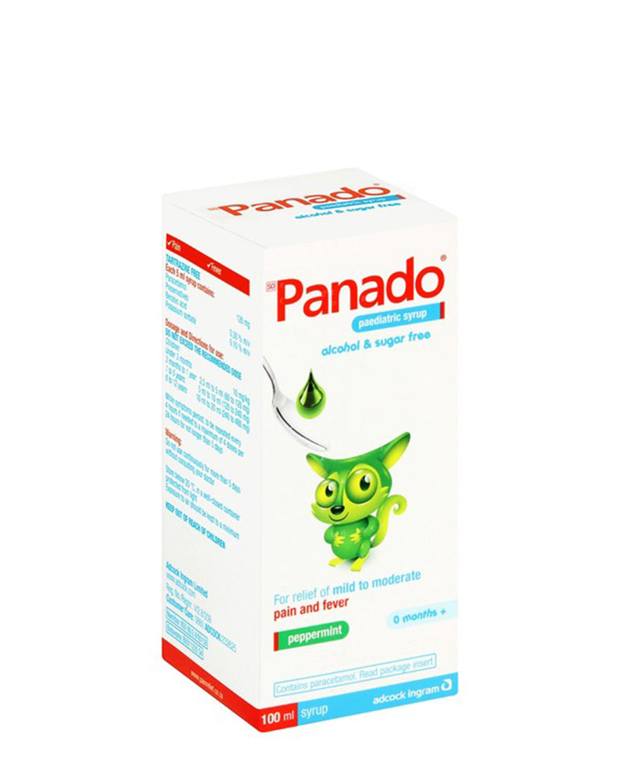 Panado Paediatric Syrup 100ml - Green