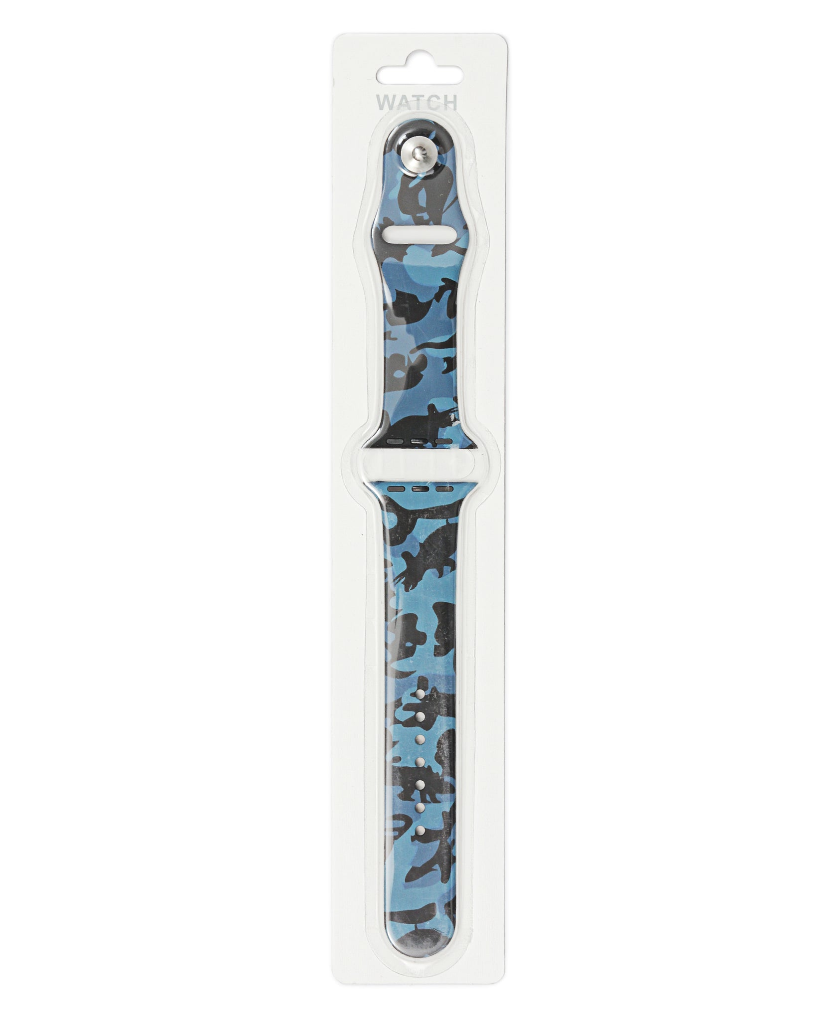 42/44mm Camo Apple Watch Band - Blue
