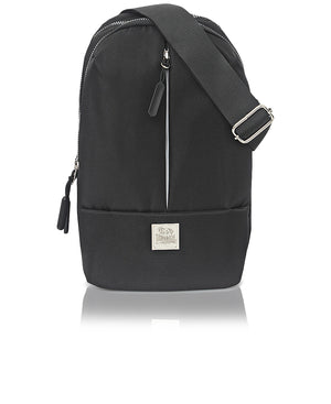 Lonsdale Shoulder Bag - Black