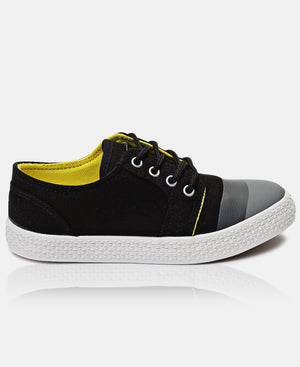 Boys Light Sneakers - Black