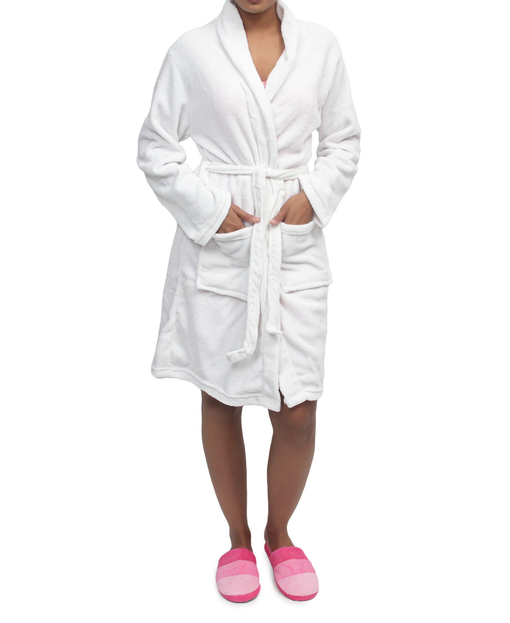 Bathrobe - White