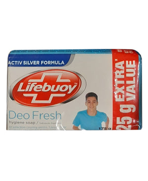 Life Buoy Deofresh 175g Soap - White