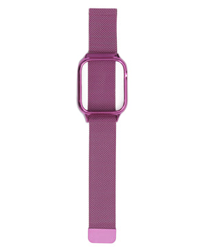 44mm Apple Watch Band With Cover - Purple
