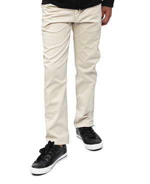 Boys Chino Pants - Beige