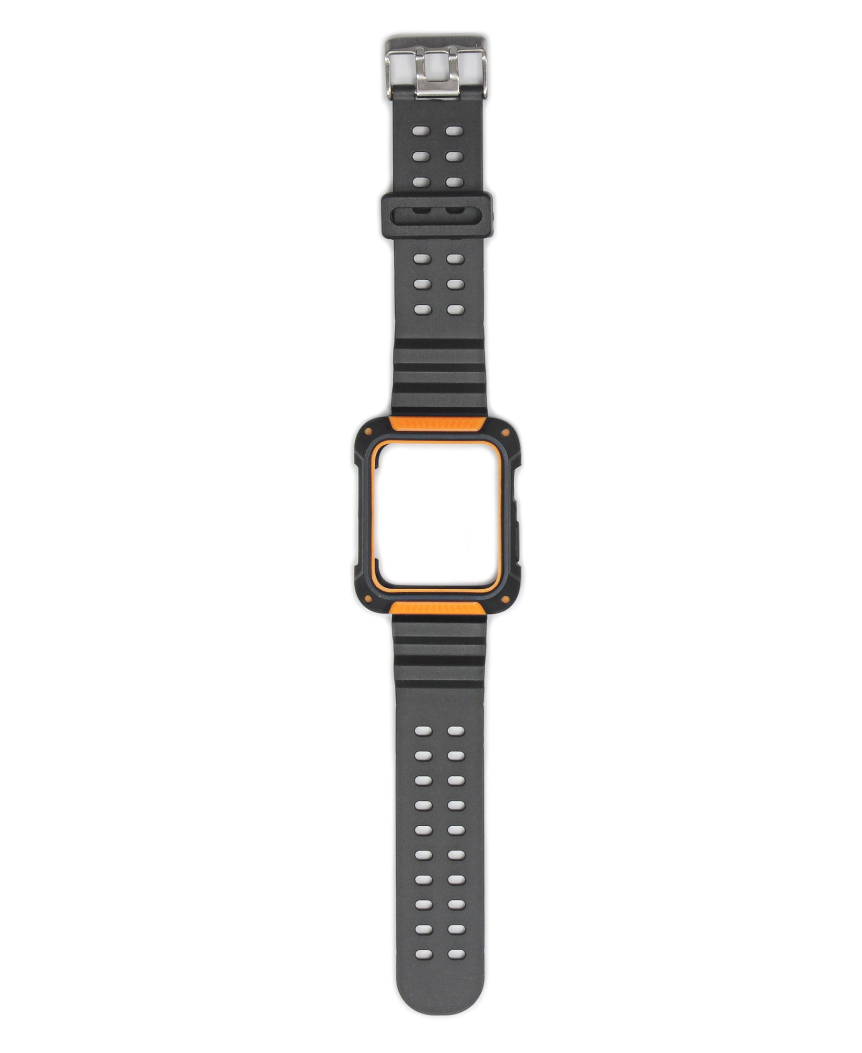 44mm Apple Watch Band With Cover - Orange