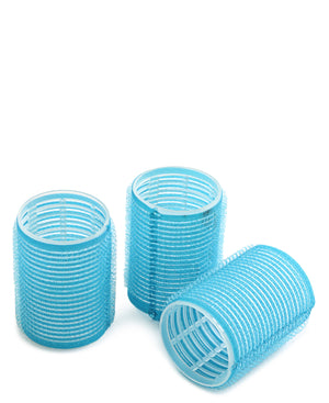 XXL Velcro Hair Rollers 3's - Blue
