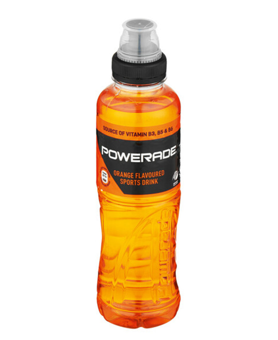 Powerade Orange 500ml - White