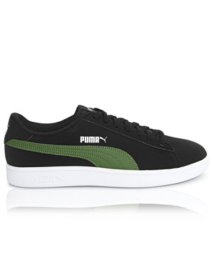Men's Smash V2 Buck Sneakers - Black