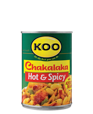 Chakalaka Hot & Spicy 410g - Green