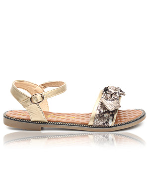Casual Sandals - Gold